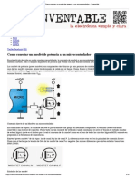 Como Conectar Un Mosfet de Potencia a Un Microcontrolador « Inventable