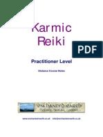 Karmic Reiki Practitioner