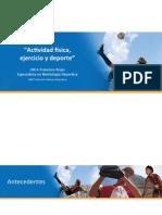 1 LNCA Francisco Rojas - Actividad Fisica, Ejercicio y Deporte