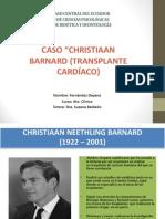 CASO Christiaan Neethlincaso cristhiang Barnard
