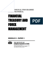 Treausury and Forex