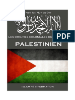 Les Origines Coloniales Du Drapeau Palestinien