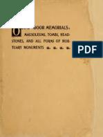 Out of Door Memorials - Cataloge