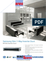 MS Samsung Slim Duct