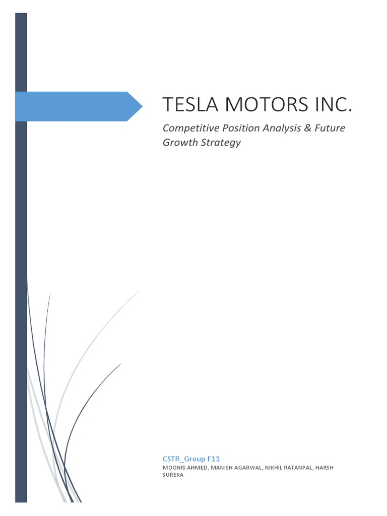 tesla motors inc swot analysis bac Analysis of tesla motors, inc (outstanding academic papers by students (oaps )) retrieved from city  competitors in the same industry  from 2013,  customers who purchase model s have the option of selling their vehicle back to  tesla.