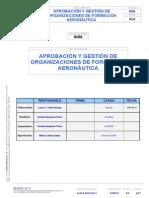 Aprobación y Gestión de Organizaciones de Formación Aeronáutica