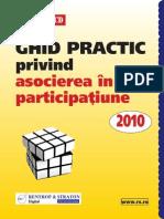 GAP - CD Ghid Practic Privind Asocierea in Participatiune