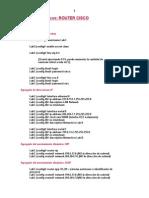 Comandos Basicos de Router Cisco