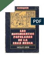 Los Movimientos Populares de La Edad Media (G. Fourquin)