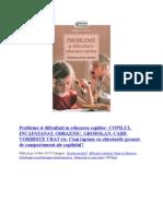 Tatiana L Sisova - Probleme Si Dificultati in Educarea Copiilor[COLECTARE]