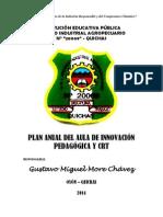 Plan Anual de Aula de Innovación 2014
