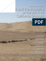 California Drought Report