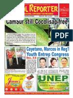 Bikol Reporter November 30 - December 6 Issue