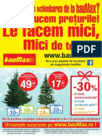 Baumax Catalog Baumax Decembrie