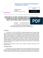 Resource Aware and Reliable Cluster Based Communication Scheme for Wireless Body Area Network Using Genetic Algorithm
