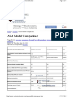 Cisco Asas Model Compare