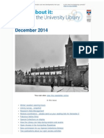 Library Newsletter December 2014