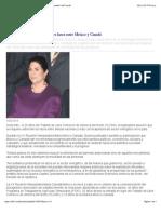 01-12-14 Llama Marcela Guerra fortalecer lazos entre México y Canadá   Info7.mobi