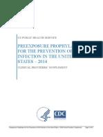 Prep Provider Supplement 2014
