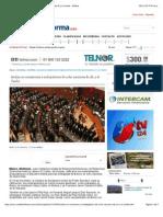 02-12-14 Avalan en Comisiones a Embajadores de Ocho Naciones de AL y El Caribe - Política
