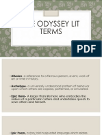 the odyssey lit terms
