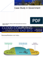 Business Process as a Service Case Study for Government Presentation