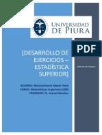 Informe Final - Desarrollo de Ejercicios