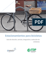 Guia- Ciclo estacionamientos - Cicloparqueaderos