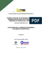 Utilizacion de La Energia Geotermica Documento Descriptivo[1]