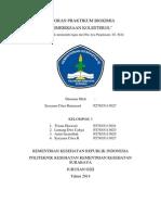 Laporan Biokimia - Pemeriksaan Kolesterol - Sysyana Citra r - p27835113027
