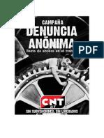 Denuncia Anónima CNT ADRA