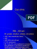 Caz Clinic Hiponatremie Dr Florea