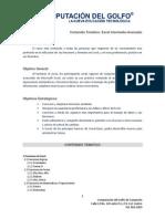 Temario Excel Intermedio Avanzado
