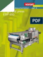 EBP 650 press