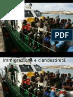 Immigrazione e Clandestinità