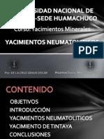 Yacimientos Minerales - Diapositivas (Yacimientos Neumatoliticos)
