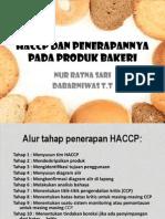 Haccp Bakery