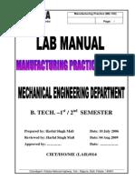 Lab Manual Workshop
