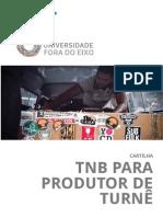 Cartilha TNB Para Produtores de Turne 1