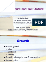 K - 7 Short Stature & Tall Stature