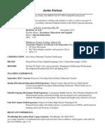 sed 400 resume 2014