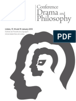 Booklet Drama and Philosophy