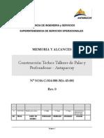 Anexo P Memoria y Alcances del Servicio.pdf