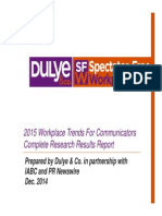 2015 Workplace Trends - Complete Results Report - 120914