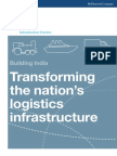 India's Logistics Infrastructure by 2020 Full Report