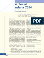 Reforma Social y Hacendaria 2014. Iniciativa Del Ejecutivo Federal