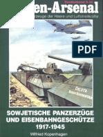 Waffen Arsenal 36 Sowjetische Panzerzüge Und Eisenbahngeschütze 1917-45