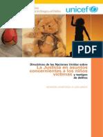 Directrices Niños Victimas v.amigABLE