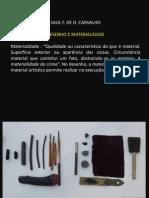 SAUL CARVALHO - Apresentacao Aula Desenho e Materialidade