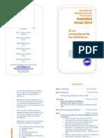 Programa Oficial de La Asamblea Anual 2014_SBPR